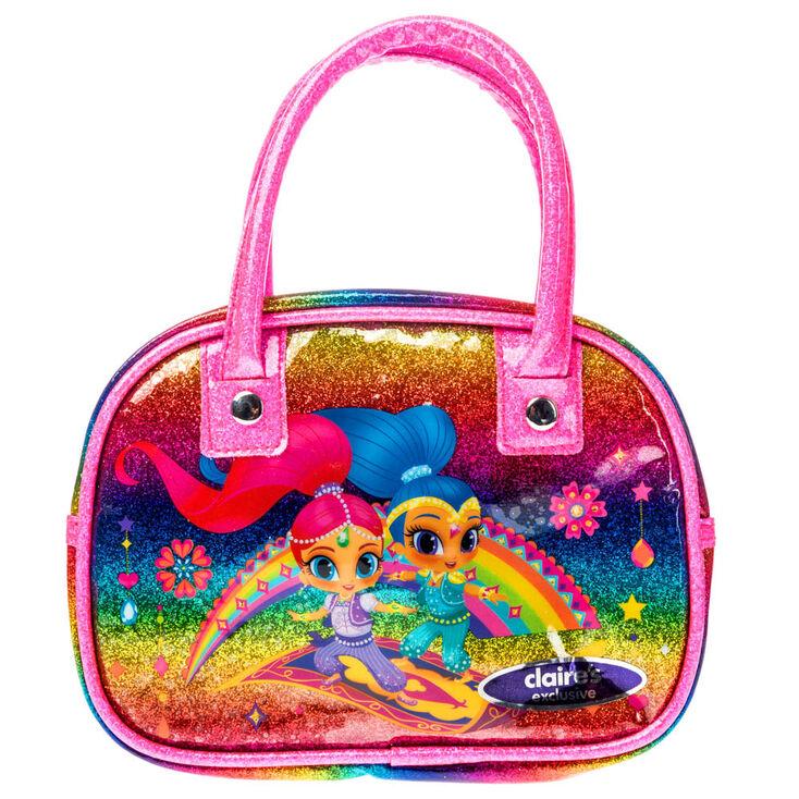 Shimmer And Shine Trade Rainbow Glitter Handbag