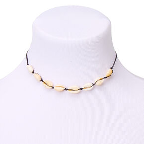 Cowrie Shell Choker Necklace,