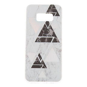 Geometric Marble Phone Case - Fits Samsung Galaxy S8,