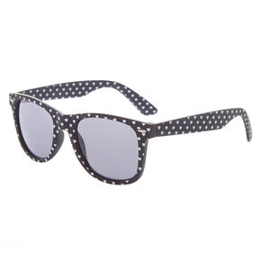 Go to Product: Heart Retro Sunglasses - Black from Claires