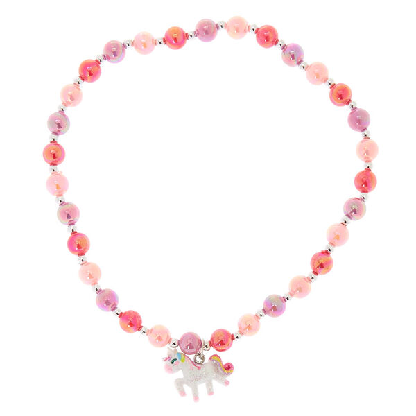 Claire's - club beaded unicorn choker necklace - 2