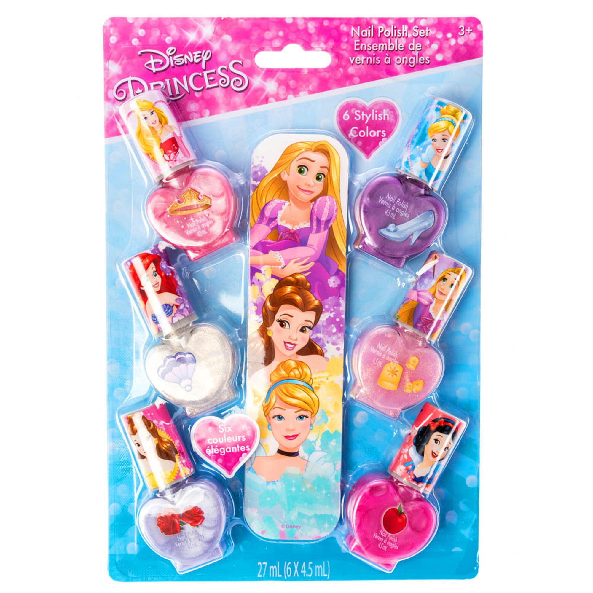Dress Disney Princess Nails: Disney Princess Nail Polish Set