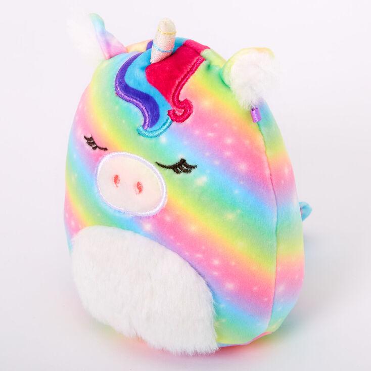 """Squishmallows™ 5"""" Claire's Unicorn Plush Toy,"""