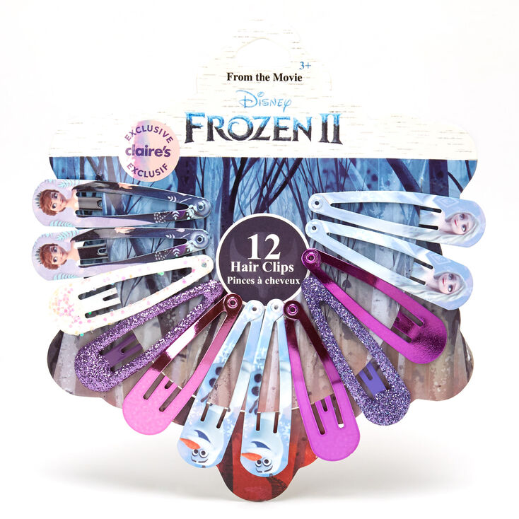 ©Disney Frozen 2 Snap Hair Clips - 12 Pack,