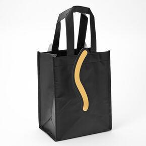 Black Cat Reusable Tote Bag,