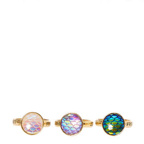Best Friends Mermaid Scale Rings - 3 Pack,