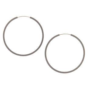 Hemae Hoop Earrings 40mm