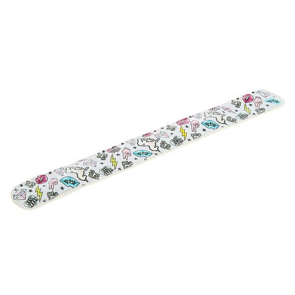 Claire's - unicorn pwr slap bracelet - 2