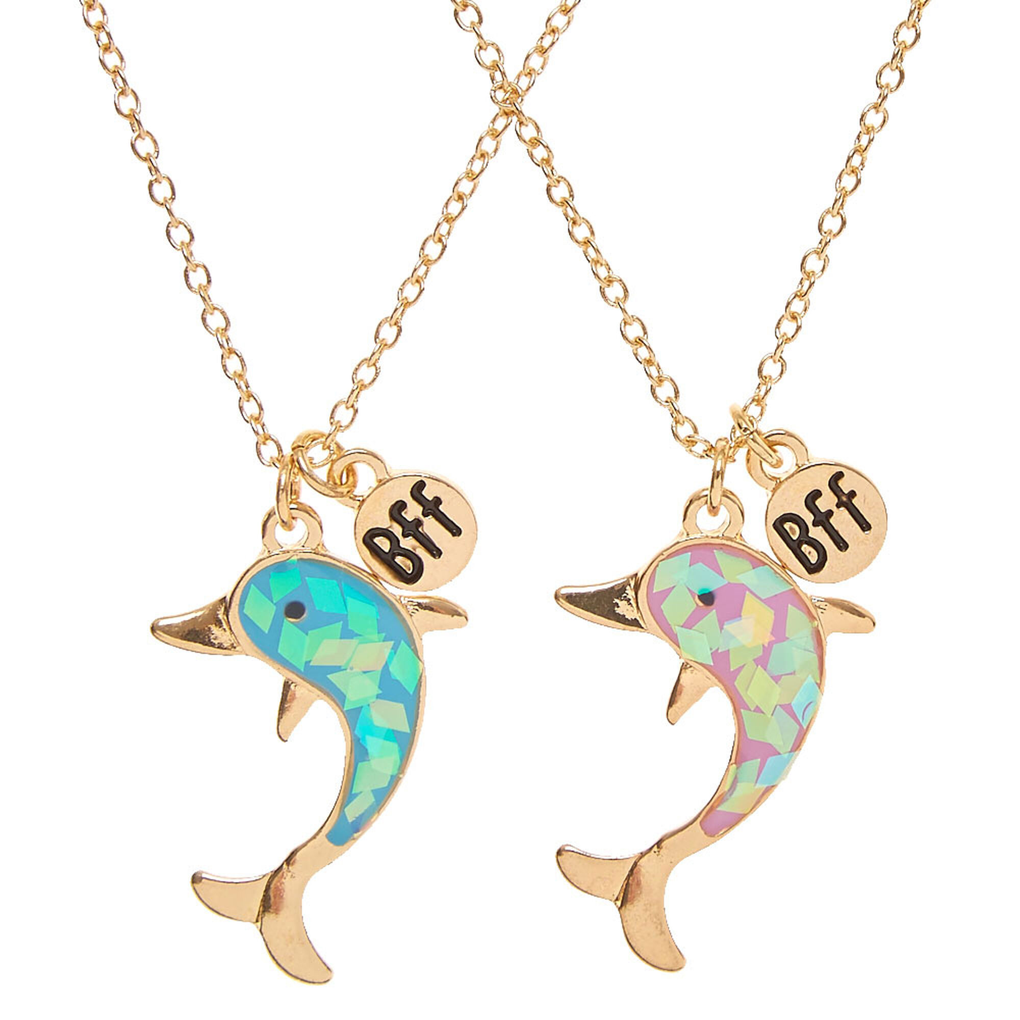 necklace gift products color wholesale gold backwoods stainless steel women dolphin princess for jewelry pendant men animal black