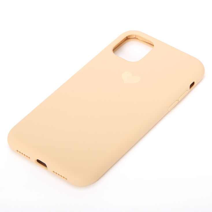 Gold Heart Phone Case - Fits iPhone 11,