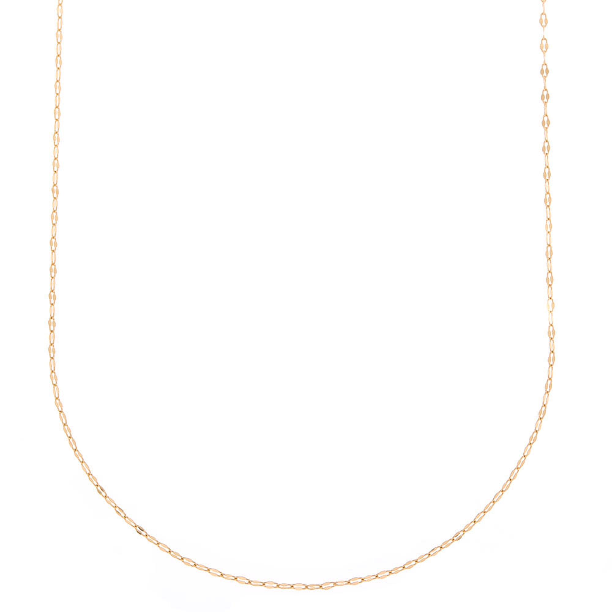 1816dd53f0d Long Gold Chain Statement Necklace | Claire's US