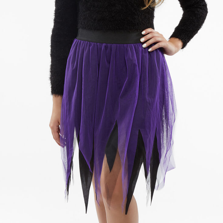 Black & Purple Tutu,