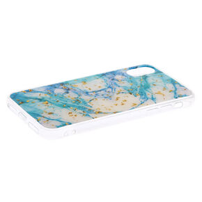 Marbled Gold Flake Phone Case - Fits iPhone XR,