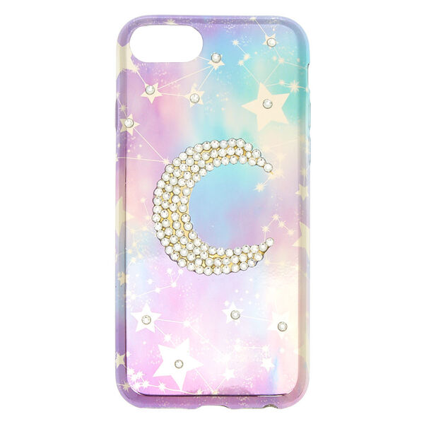Claire's - stone moon constellation phone case - 1