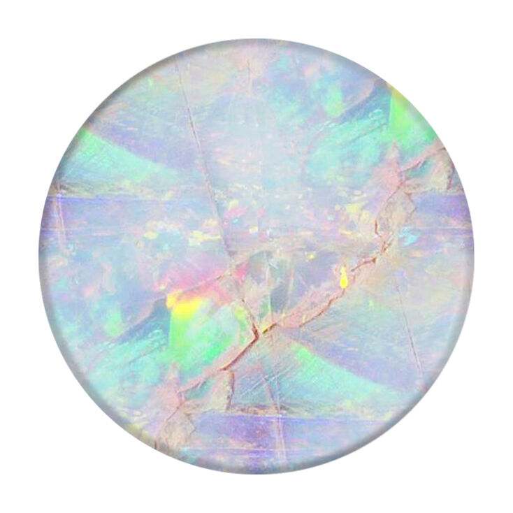 PopSockets Swappable PopGrip - Opal,