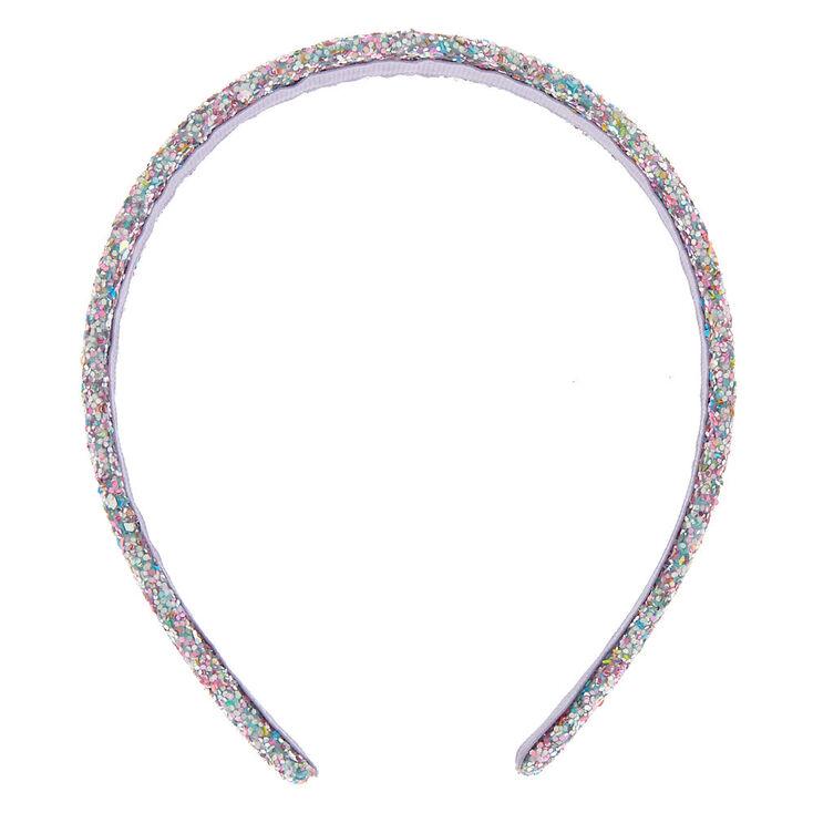Cake Glitter Confetti Headband - Pink,