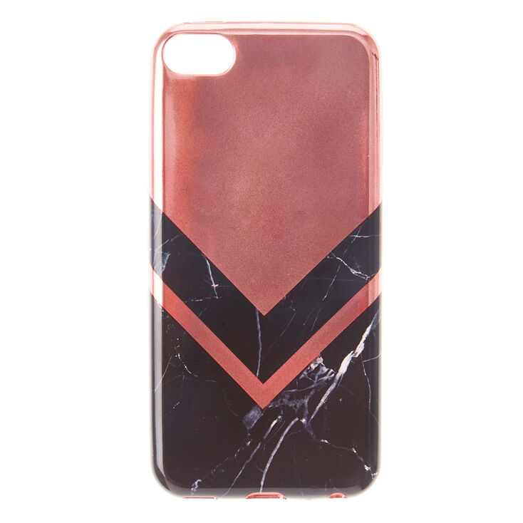 official photos 86410 c8f49 Black Marble & Rose Gold iPod® Touch 5/6 Case
