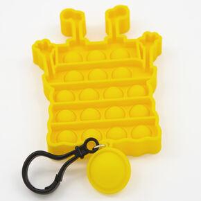Pop Poppers SpongeBob SquarePants™ Fidget Toy Keychain – Yellow,