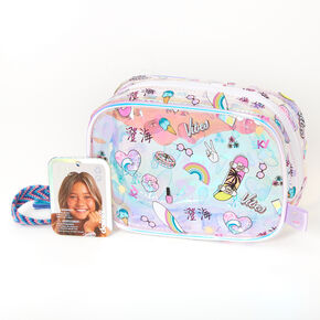 Sky Brown™ Holographic Cosmetic Bag,