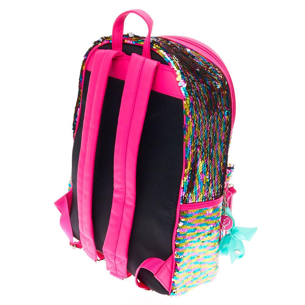 JoJo Siwa Reversible Sequin Backpack Claires Exclusive