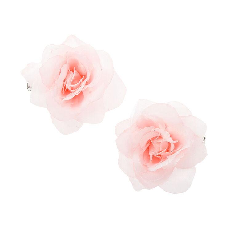 Light Rose Hair Clip - Pink,