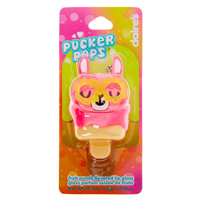 Pucker Pops Funky Llama Lip Gloss - Fruit Punch,