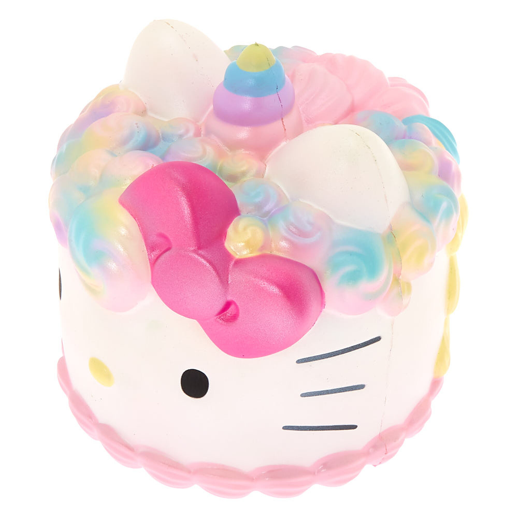 ef164fef8 Hello Kitty® Jumbo Cake Squish Toy - White | Claire's US