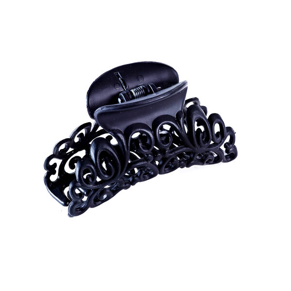 Claire's - matte filigree hair claw - 1