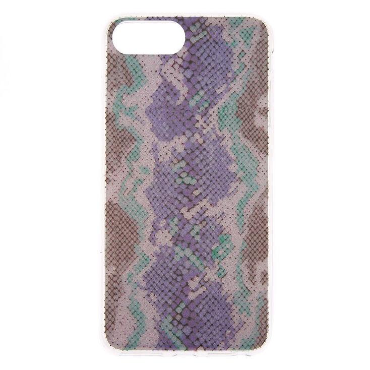 Glitter Snake Skin Phone Case - Fits iPhone 6/7/8 Plus,