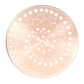PopSocket PopGrip spirale d'étoiles couleur doré rose,