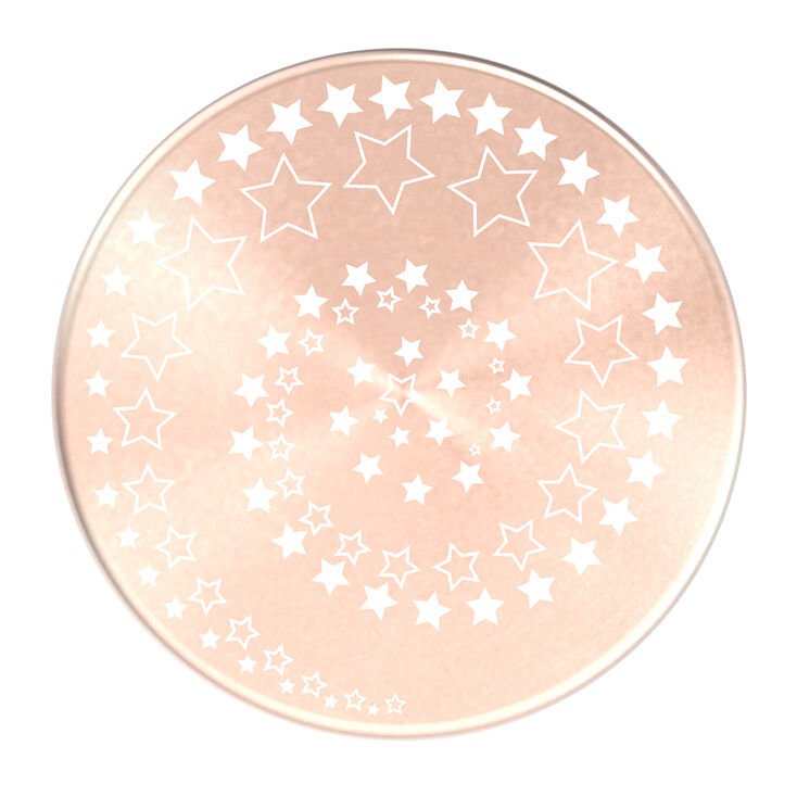 PopSockets Swappable PopGrip - Rose Gold Star,