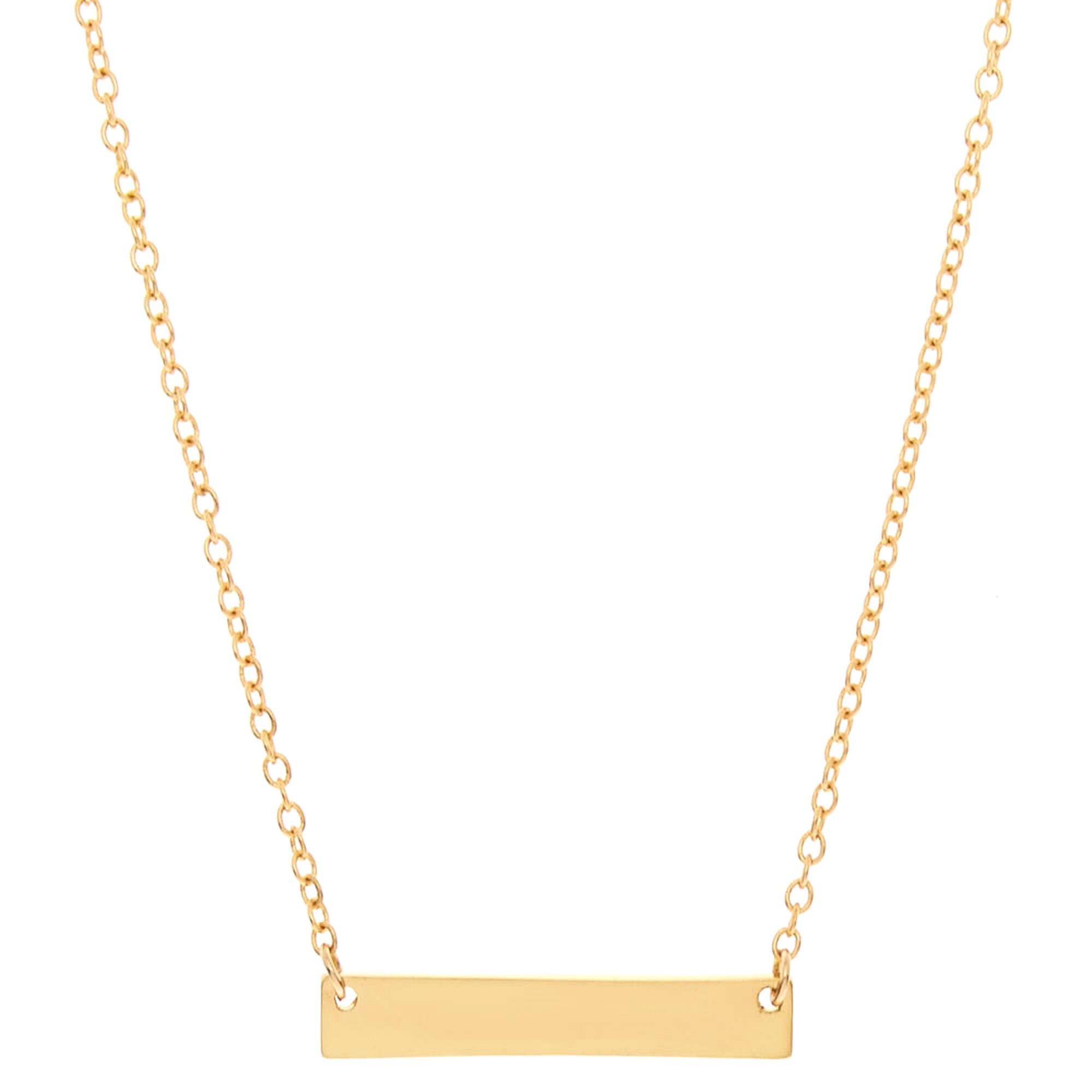 pendant in gold necklace bar suisse fine estate credit yellow