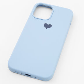 Baby Blue Heart Phone Case - Fits iPhone 12 Pro Max,