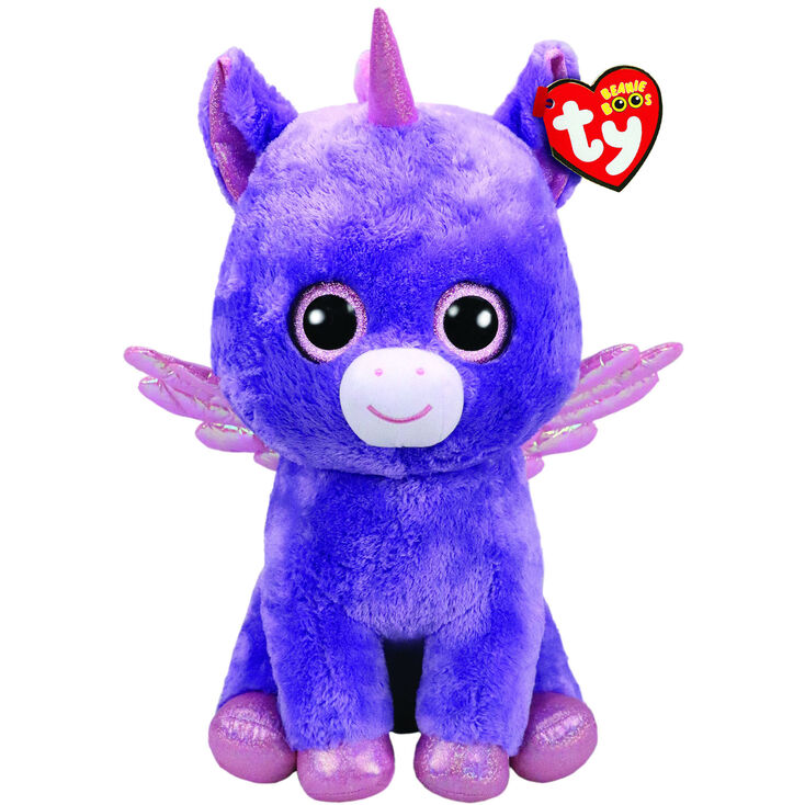 Ty Beanie Boo Large Athena the Pegasus Soft Toy  242379d3c23