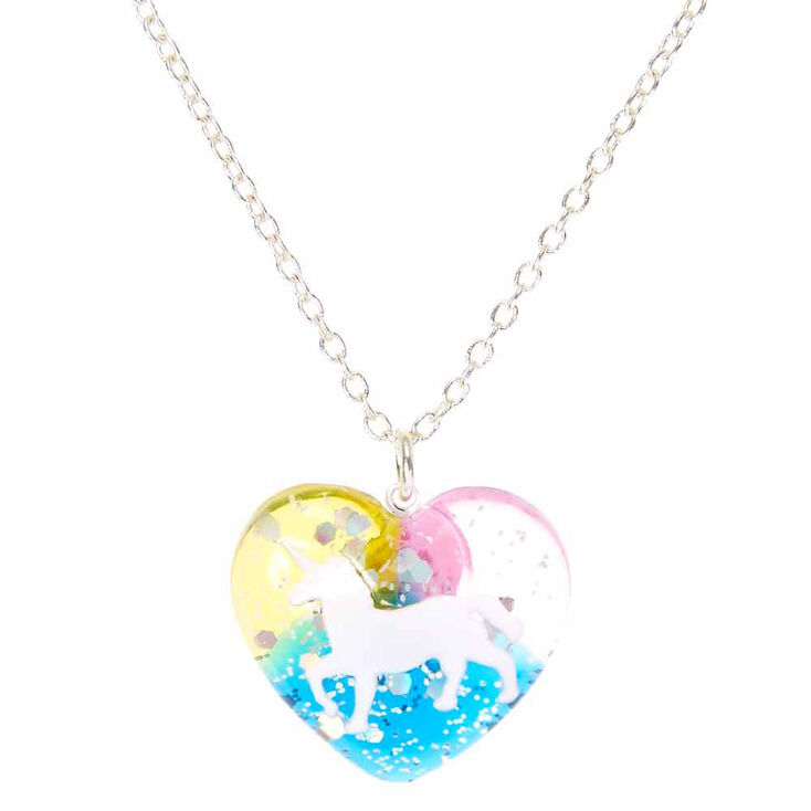 jewelry otiumberg rainbow lyst necklace multicolor pendant