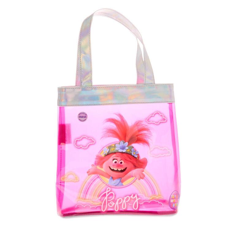 Trolls World Tour Poppy Tote Bag - Pink,
