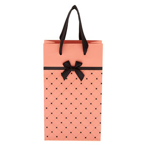 Small Quilted Gift Bag - Pink,