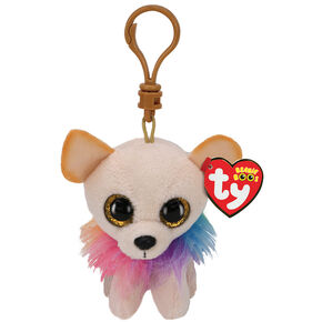 Ty Beanie Boo Chewey the Chihuahua Keyring Clip,