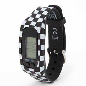 Checkered Active LED Watch,