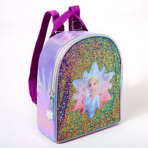 ©Disney Frozen 2 Glitter Elsa Small Backpack - Purple,