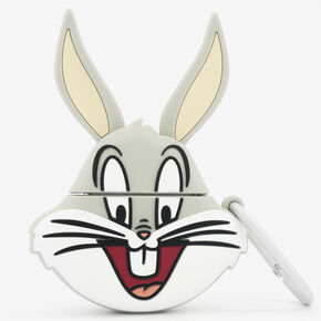 Looney Tunes™ Bugs Bunny Silicone Earbud Case Cover - Compatible With Wireless Ear Bud Cases,