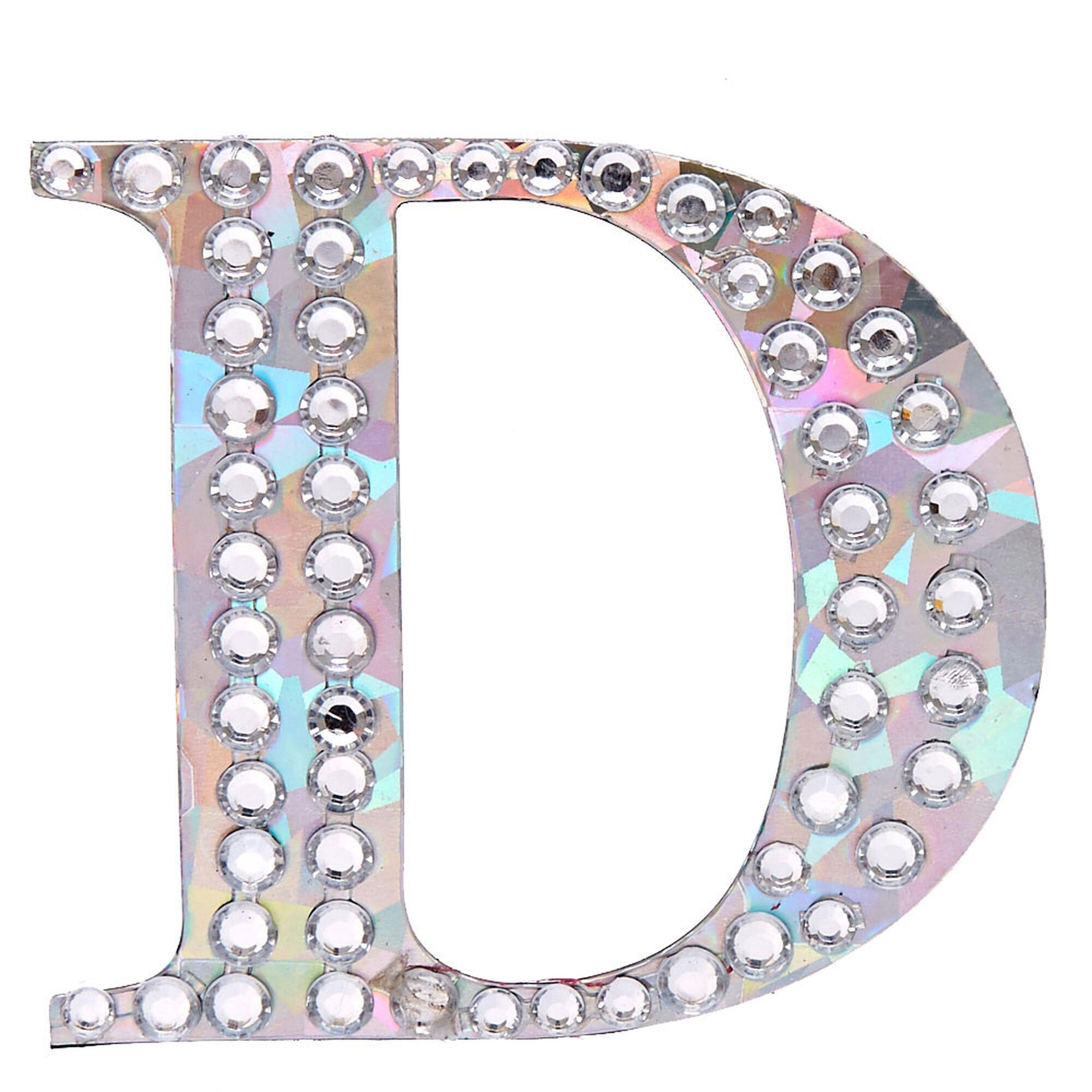 Holographic peel stick letter d magnet claires us holographic peel amp stick letter d jeuxipadfo Images
