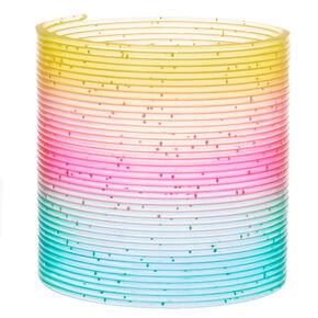 Tobar® Rainbow Glitter Springy Slinky,