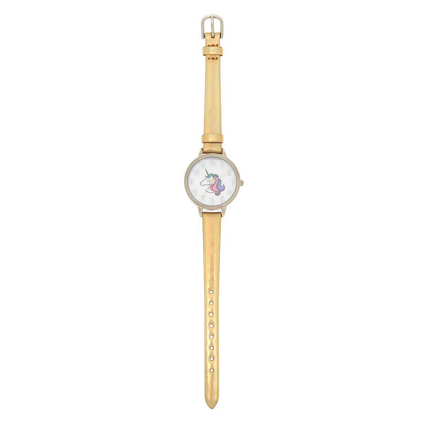 Claire's - miss glitter the unicorn holographic watch - 2