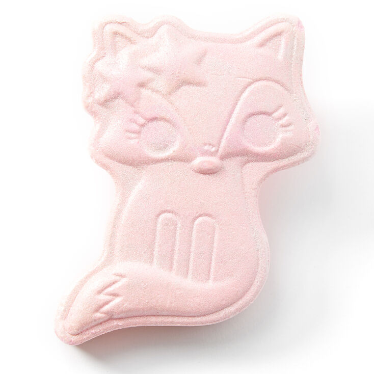 Pastel Fox Bath Bomb - Pink, Strawberry,