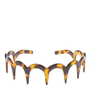 Tortoiseshell Tooth Comb Headband,