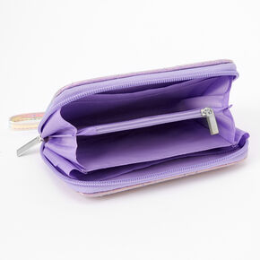 Rainbow Love Wristlet - Purple,