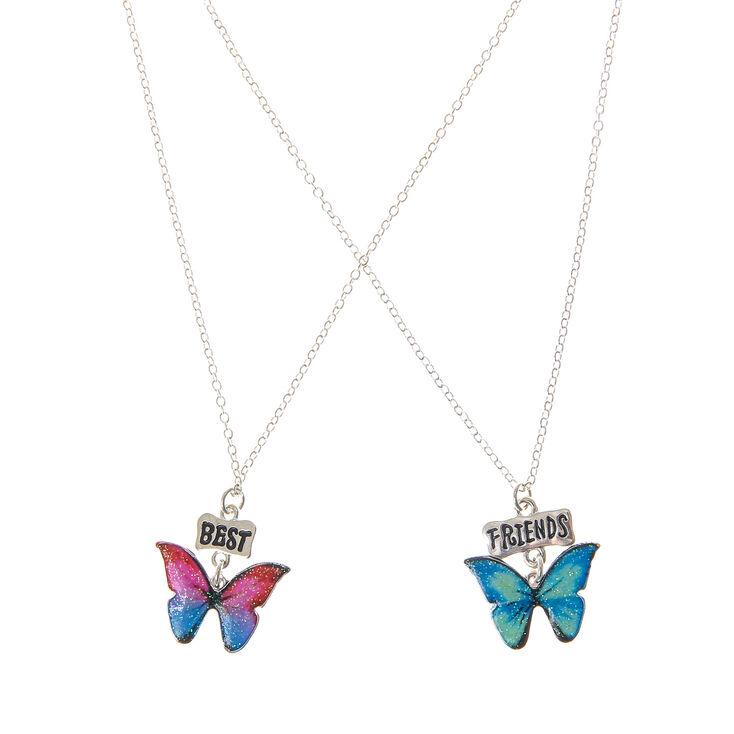 colliers d 39 amiti papillon paillettes claire 39 s fr. Black Bedroom Furniture Sets. Home Design Ideas