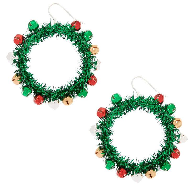 2 Wreath Drop Earrings Green Claire S Us