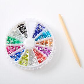 Rainbow Gems Nail Art Wheel,